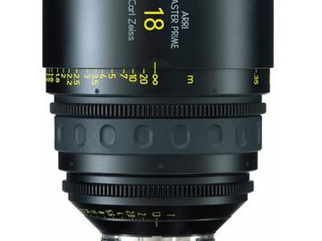 Rent: 18mm Arri/Zeiss Master Prime T1.3 (114mm-D)
