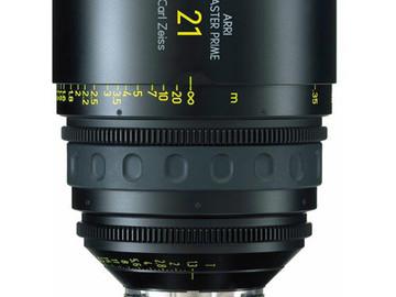 Rent: 21mm Arri/Zeiss Master Prime T1.3 (114mm-D)