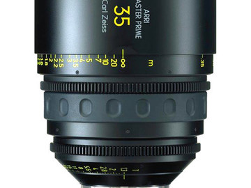 Rent: 35mm Arri/Zeiss Master Prime T1.3 (114mm-D)