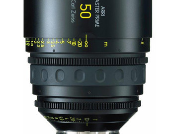 Rent: 50mm Arri/Zeiss Master Prime T1.3 (114mm-D)