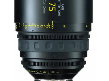 Rent: 75mm Arri/Zeiss Master Prime T1.3 (114mm-D)