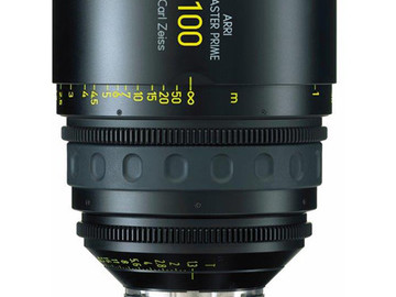 Rent: 100mm Arri/Zeiss Master Prime T1.3 (114mm-D)