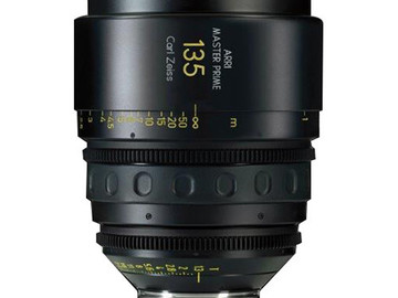 Rent: 135mm Arri/Zeiss Master Prime T1.3 (114mm-D)