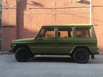 Rent: Mercedes-Benz G Wagen  -  1980 240GD