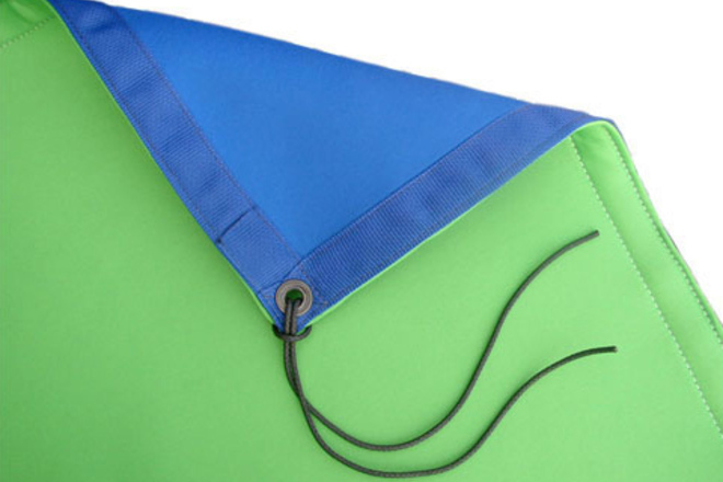 Matthews 12x12 Chroma Blue/Green with Stands and Steamer