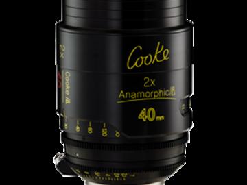 Rent: 40mm Cooke Anamorphic/i T2.3 (110mm-D)