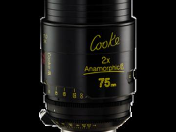 Rent: 75mm Cooke Anamorphic/i Lens T/2.3 (110mm-D)