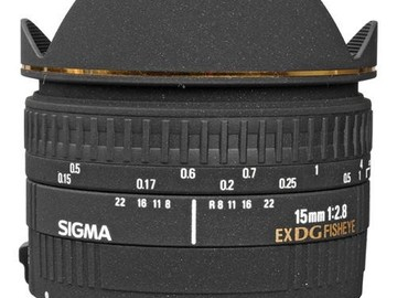 Rent: Sigma 15mm f/2.8 EX DG Diagonal Fisheye Lens for Canon EF