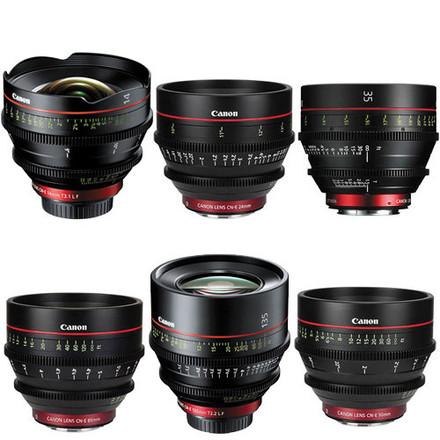 Canon CN-E EF 6 Lens Kit