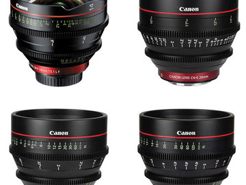 Rent: Canon CN-E EF 4 Lens Kit