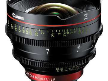 Rent: Canon CN-E 14mm T/3.1