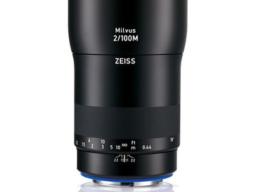 Rent: Zeiss Milvus EF 100mm F/2 ZE