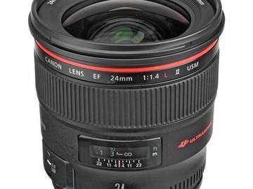 Rent: Canon EF 24mm F/1.4L USM ll