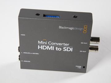 Rent: Blackmagic Mini Converter HDMI to SDI
