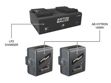 Rent: Anton Bauer HyTRON 140 Battery + LP2