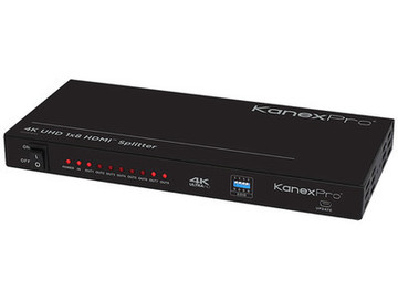 Rent: Kanex Pro HDMI Splitter 4K UHD 1x8