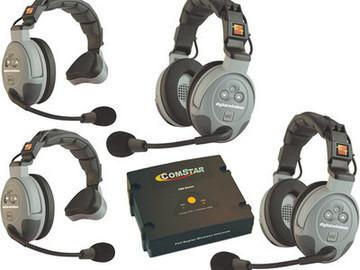 Rent: Eartec COMSTAR XT 4-User Full Duplex Wireless Intercom Set
