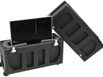 """Rent: SKB Roto-Molded LCD Transport Case for 20 - 26"""" Screens"""