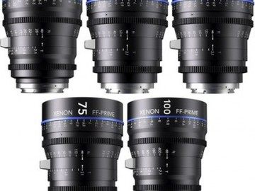 Rent: Schneider Xenon 5 Lens Kit