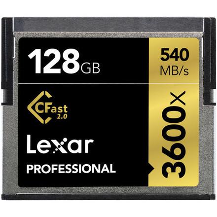 CFast Card 2.0 Lexar 128GB 3600x Alexa Mini + Amira