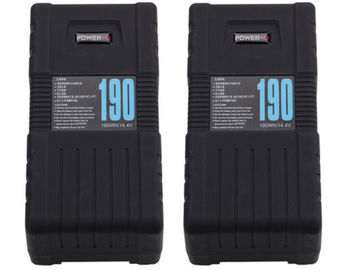 Three V-lock Batteries - High Capacity 190Wh