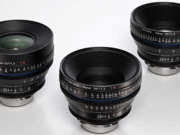Rent: Zeiss CP2 Super Speed 35mm/ T1.5, 50mm/T1.5, 85mm/T1.5