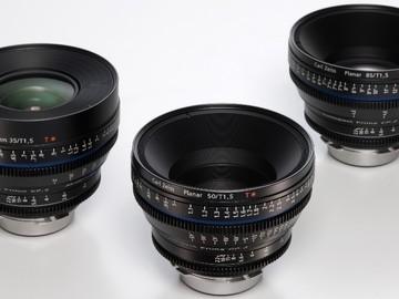 Rent: Zeiss CP2 Super Speed 35mm/ T1.5, 50mm/T1.5, 85mm/T1.5