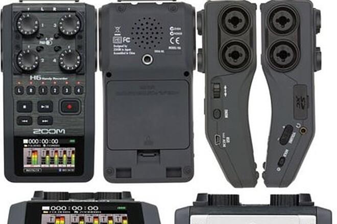 Zoom H6 Portable Audio Recorder