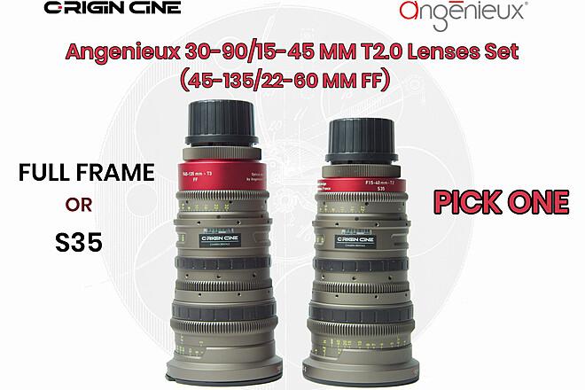 (20% Off) Angenieux EZ-2 30-90mm T2  (S35 or Full-Frame)