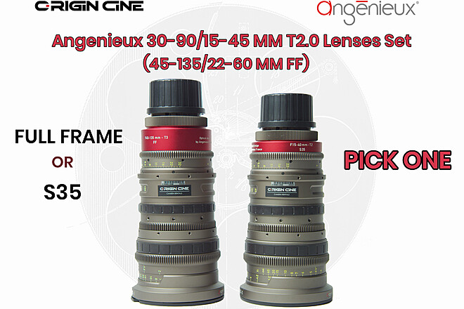 (20% Off) Angenieux EZ-2 15-40mm T2  (S35 or Full-Frame)