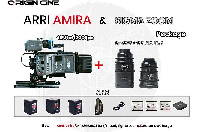 (20% Off) 4KUHD Premium ARRI Amira Zoom Lenses Package #3
