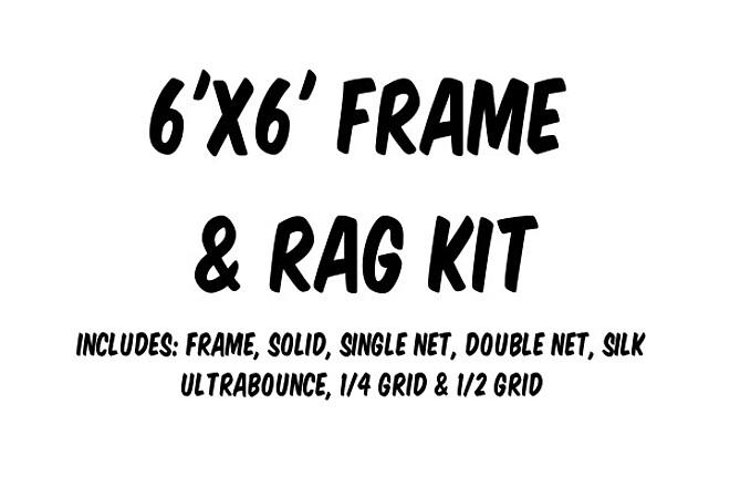 6'x6' Frame & Rag Kit