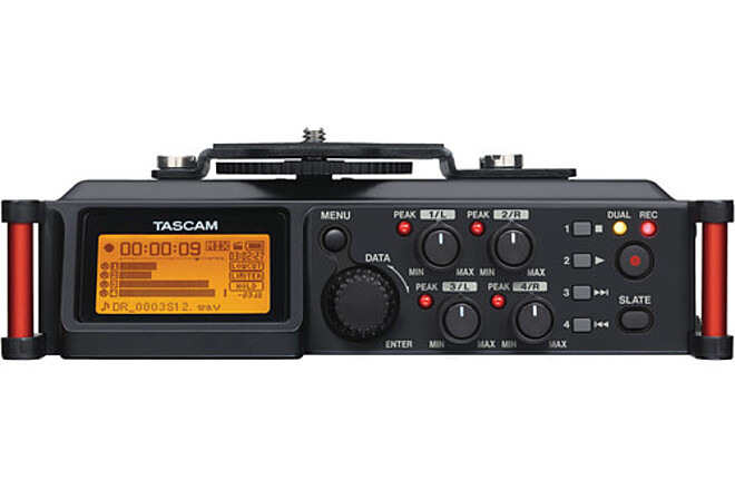 Tascam DR-70D 4-Channel Audio Recording Device
