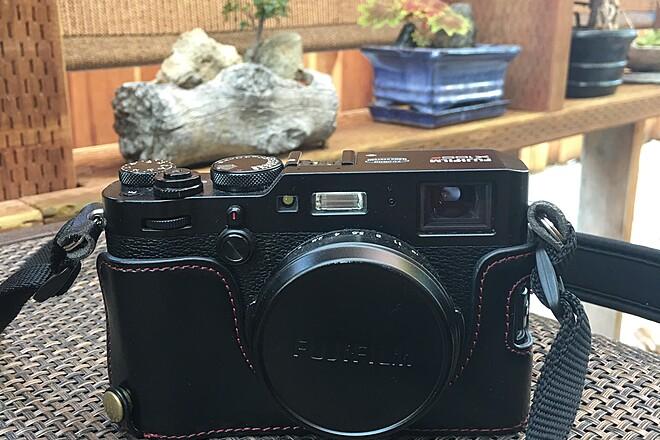 Fujifilm X100F Fixed-Lens Digital Camera - Black