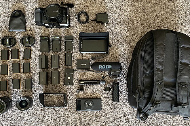 Blackmagic Pocket Cinema Camera 6K(BMPCC6K) Package