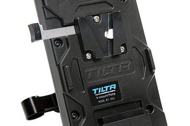 Tilta V-Mount Plate w/ BMPCC6K Power Cable and CFast cards
