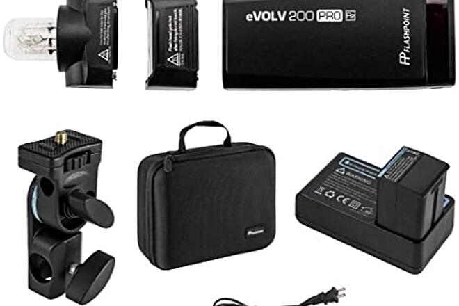 Godox / Flashpoint Portable Kit - 2 AD200s