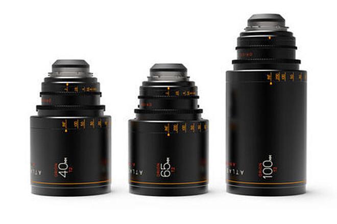 Atlas Lens Co. T2 Orion Series Lens Set (40mm, 65mm, 100mm)
