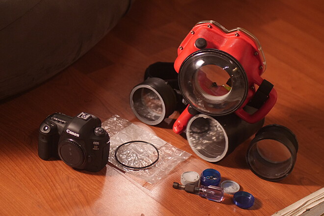 Canon Underwater Housing - (5D not included)* Ikelite Clone