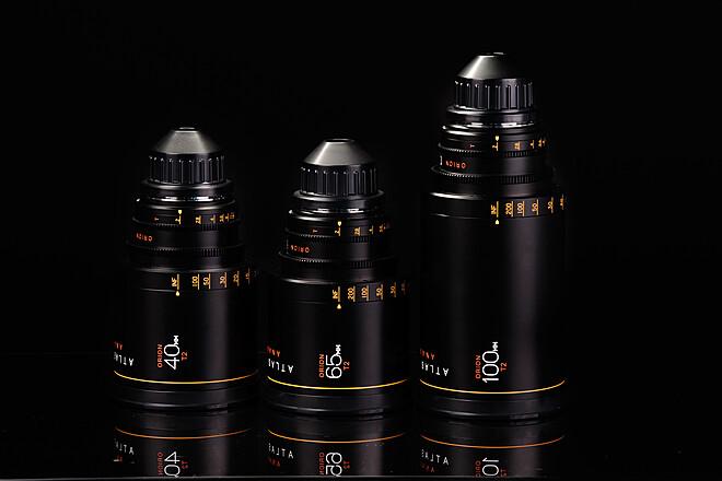 Atlas Lens Co. Anamorphic 40mm, 65mm, 100mm