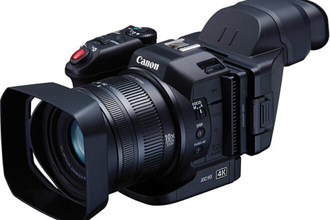 Canon XC10 4K Camcorder + 4 Batteries, 2 256 GB Cfast/Reader