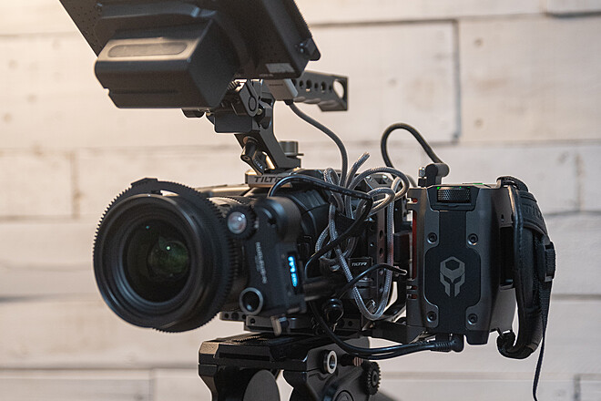 Compact and Modular BMPCC4K Build with Wireless Follow Focus