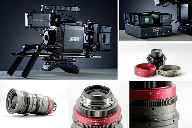 Alexa Mini + Angenieux EZ-2 15-40mm T2 + 30-90mm T2