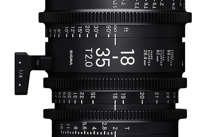 Sigma Cine 18-35mm T2 (PL Mount)