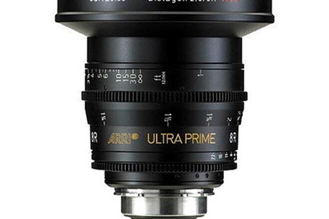 Arri Zeiss 8R 8mm Ultra Prime T2.8