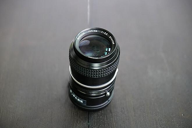🔍Nikon AF DC Nikkor 105mm f/2D