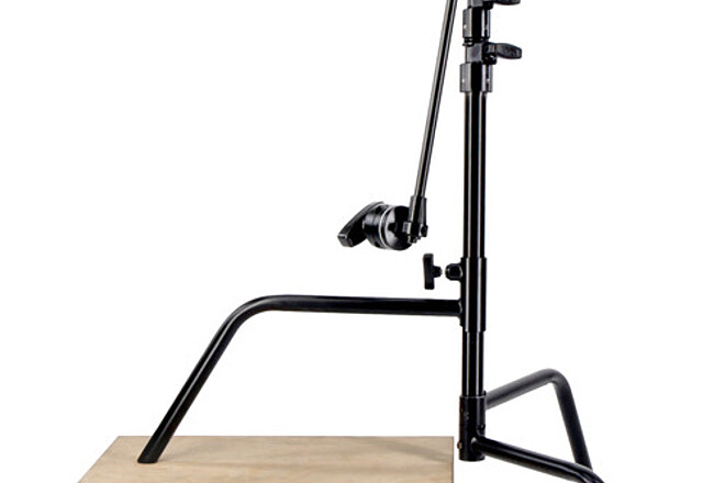 "Matthews Hollywood 20"" Short C-Stand with Grip Head & Arm"