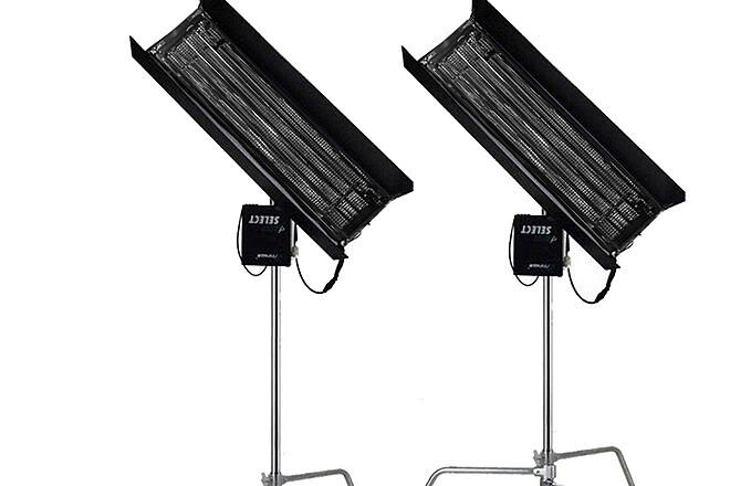 Kino Flo 4-ft 4-Bank Gaffer's 2 Light Kit