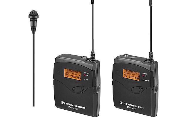 Sennheiser EW100 G3  Wireless Lav Microphone lavalier