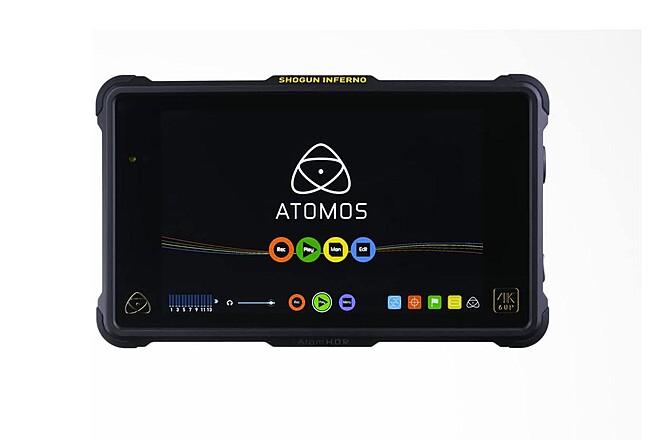 "Atomos Shogun Inferno 7"" 4K Recorder HDR 60p  w 2x 250GB SSD"